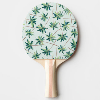 Tropical Australian Foxtail Palm Ping-Pong Paddle