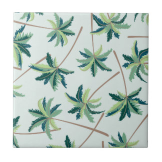 Tropical Australian Foxtail Palm Tiles