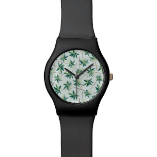 Tropical Australian Foxtail Palm Wrist Watches