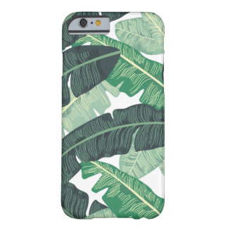 Tropical Banana Leaf pattern Barely There iPhone 6 Case