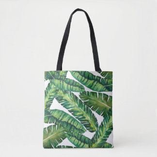 Tropical Banana Leaf Tote Bag