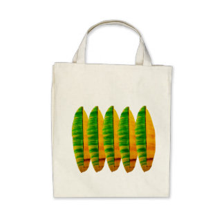 Tropical Banana Leafs Bag