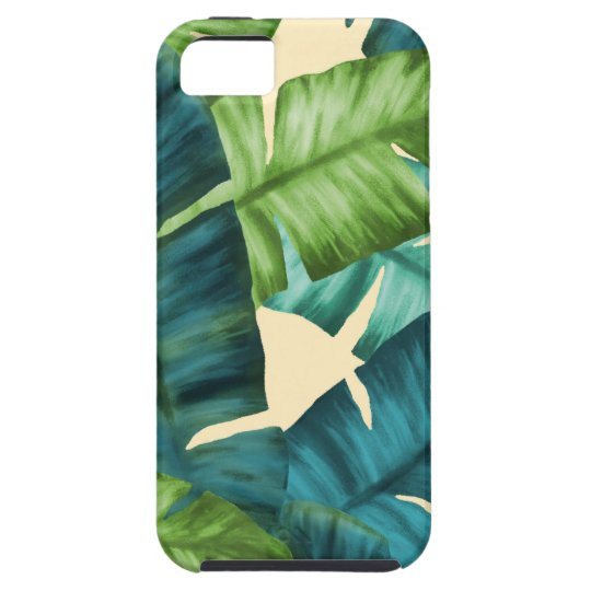 Tropical Banana Leaves Original Pattern iPhone 5 Cover