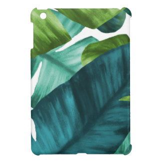 Tropical Banana Leaves Unique Pattern iPad Mini Cases