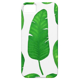 Tropical Banana Palm Leaf iPhone SE + iPhone 5/5S Case For The iPhone 5