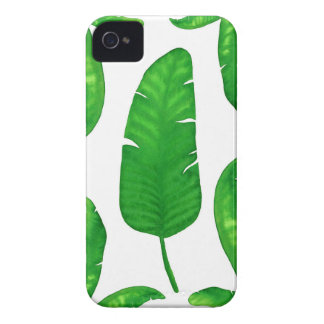 Tropical Banana Palm Leaves iPhone 4 Case-Mate iPhone 4 Cases