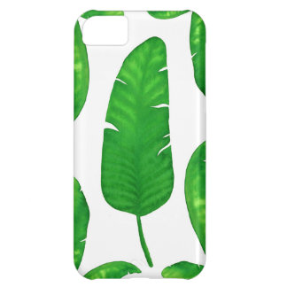 Tropical Banana Palm Leaves iPhone iPhone 5C Cover For iPhone 5C