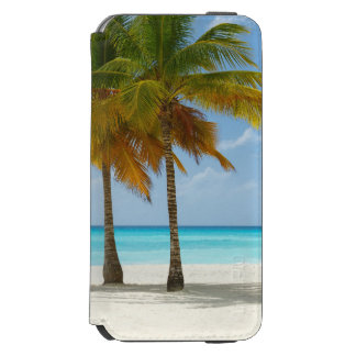Tropical Beach and Palm Trees Incipio Watson™ iPhone 6 Wallet Case