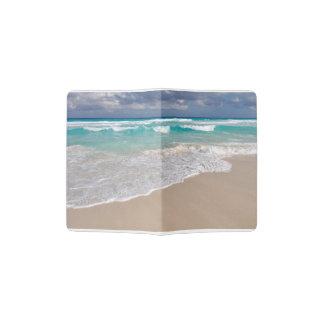 Tropical Beach and Sandy Beach Passport Holder