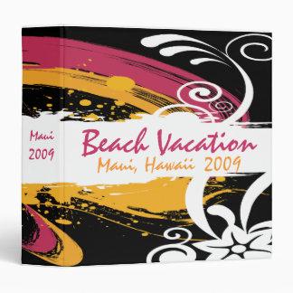 Tropical Beach Binder