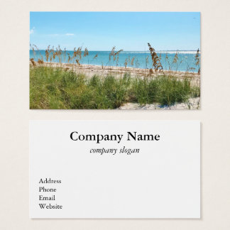 Tropical Beach Business Card