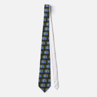 Tropical Beach Cave White Sandy Shore Tie