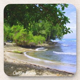 Tropical Beach Coaster
