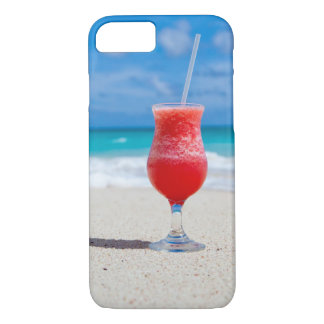 Tropical beach cocktail drink iPhone 8/7 case