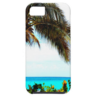 tropical beach coconut tree iPhone 5 cover