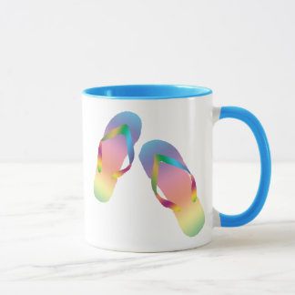 Tropical Beach Flip Flops 1 Mug