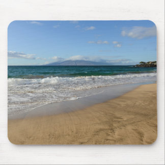 Tropical Beach in Maui Hawaii in Maui Hawaii Mouse Pad