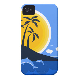 Tropical Beach iPhone 4 Case