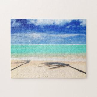 Tropical beach jigsaw puzzle