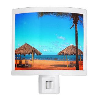 Tropical Beach Night Light