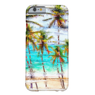 Tropical Beach Ocean Custom iPhone 6 case
