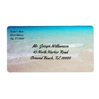Tropical Beach Ocean Water Shipping