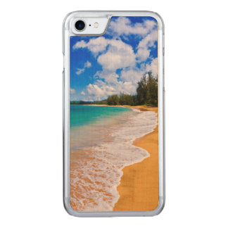 Tropical beach paradise, Hawaii Carved iPhone 7 Case