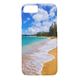 Tropical beach paradise, Hawaii iPhone 8/7 Case