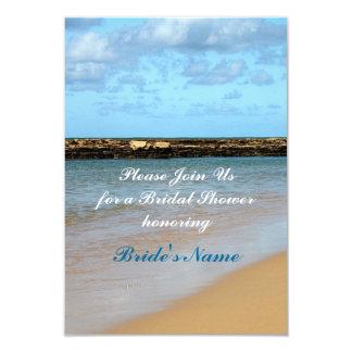 Tropical Beach Paradise Wedding Bridal Shower Personalized Invitation