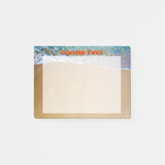 Tropical Beach Post-it Notes