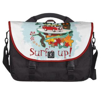 Tropical Beach Scene Computer Bag