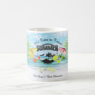 Tropical Beach, Summer Vacation | Personalized Coffee Mug