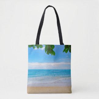 Tropical Beach Sun Sand and Sea Tote Bag