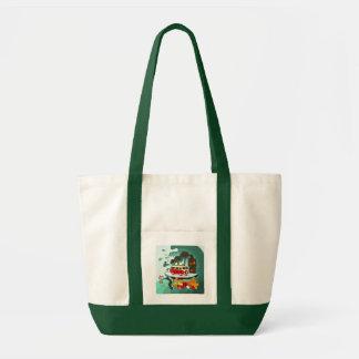 Tropical Beach Tote Impulse Tote Bag
