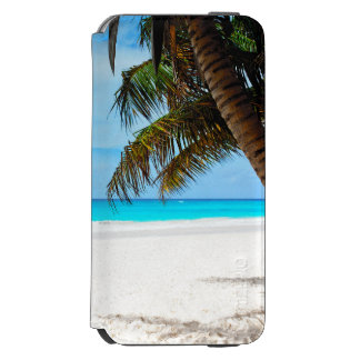 Tropical beach, turquoise water incipio watson™ iPhone 6 wallet case