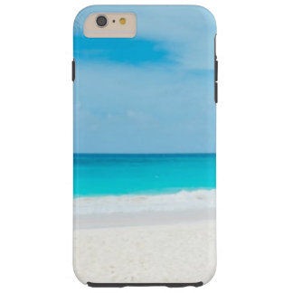 Tropical Beach Turquoise Water Tough iPhone 6 Plus Case