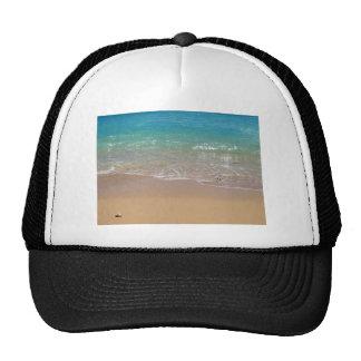 Tropical Beach - Waikiki, Oahu, Hawaii Hat