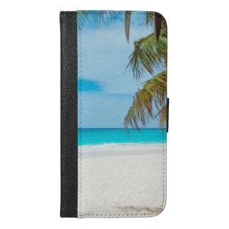 Tropical Beach Wallet iPhone 6/6 Plus