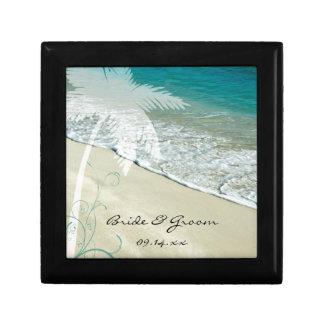 Tropical Beach Wedding Gift Box
