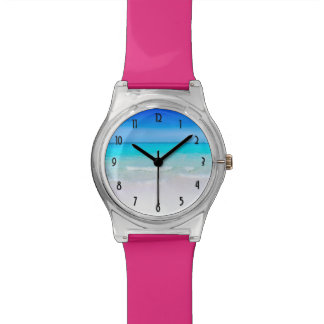 Tropical Beach with a Turquoise Sea Watch