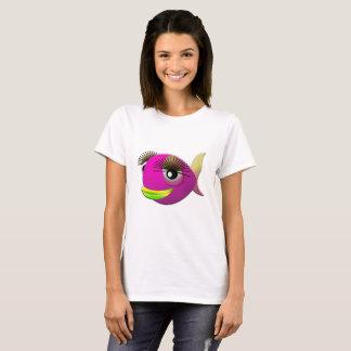 Tropical beautiful pink girl fish T-Shirt