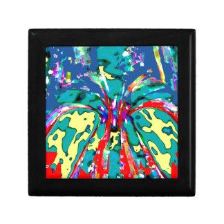 TROPICAL Beauty Landscape - Flowering Hearts FUN Keepsake Box