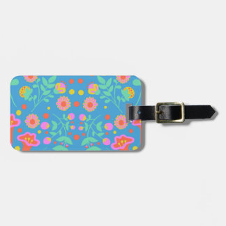 Tropical Bells Bag Tag