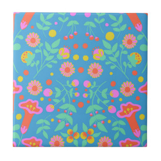 Tropical Bells Ceramic Tiles
