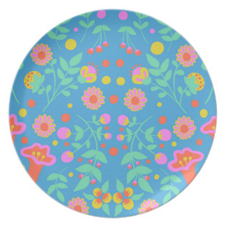 Tropical Bells Dinner Plates
