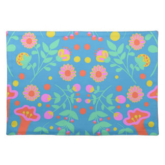 Tropical Bells Place Mats
