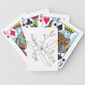 Tropical Bicycle Playing Cards
