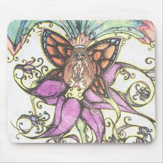 Tropical Bikini Clad Fairy Mousepad