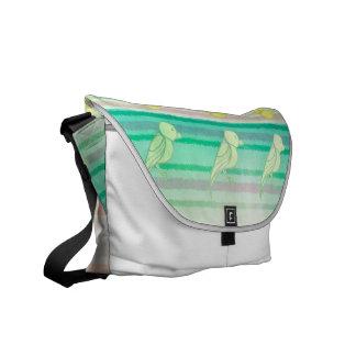 Tropical Birdies Commuter Bag