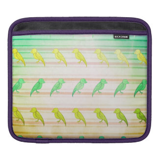 Tropical Birdies iPad Sleeve